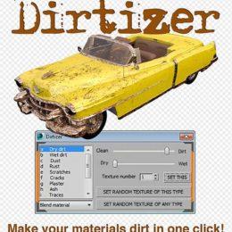 دانلود پلاگین Dirtizer 1.3 برای 3ds Max