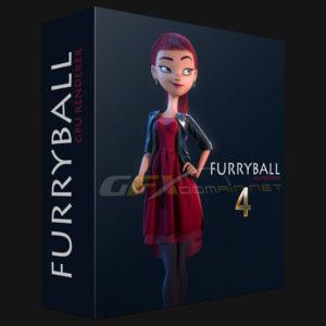دانلود موتور رندر FurryBall 4.6 برای3dsmax وmaya - furryball 2 300x300