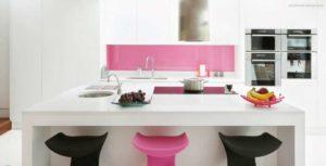 30 ایده طراحی آشپزخانه صورتی برای کمک به طراحی های شما - hot pink kitchen accessory 300x153