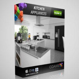 دانلود مدل سه بعدی لوازم آشپزخانه از CGAxis