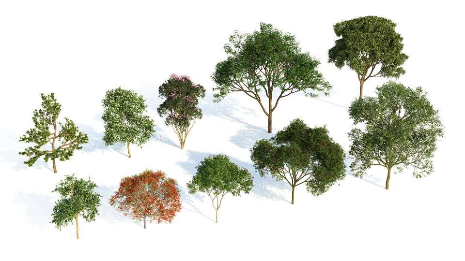 دانلود پلاگین Laubwerk Plants Kit