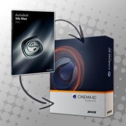 دانلود پلاگین انتقال پروژه 3dmax به Cinema4D