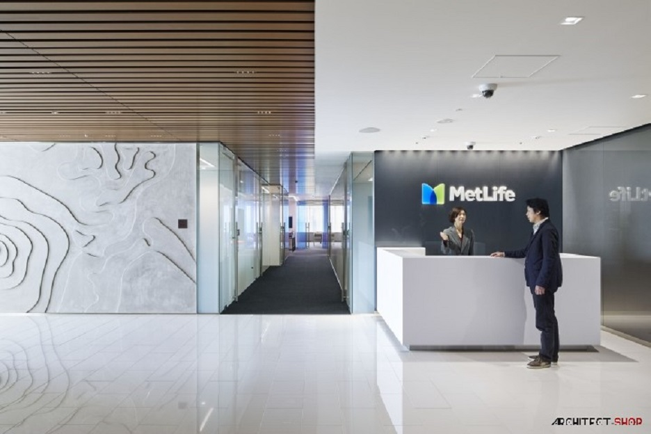طراحی دفتر کار در ژاپن - met life office 30 1