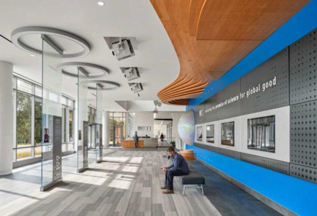 طراحی فضای اداری موسسه علم و فناوری RTI
