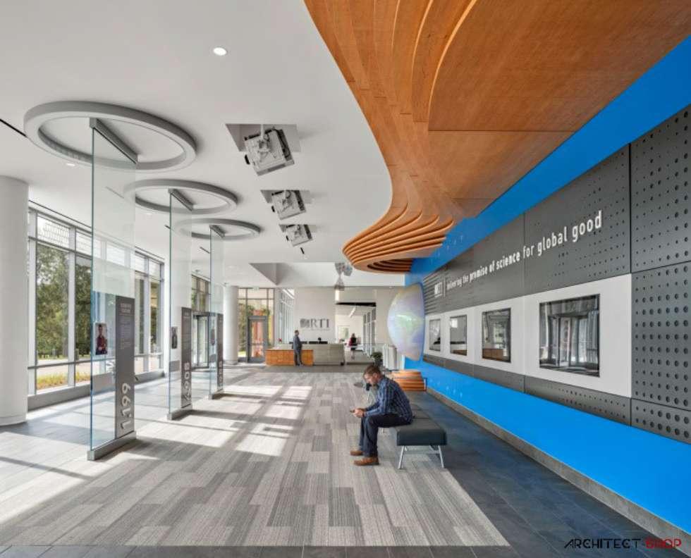 طراحی فضای اداری موسسه علم و فناوری RTI - office rti 20