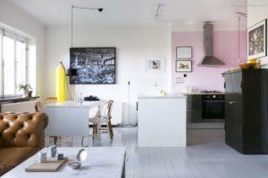 30 ایده طراحی آشپزخانه صورتی برای کمک به طراحی های شما - pink kitchen ideas 300x200