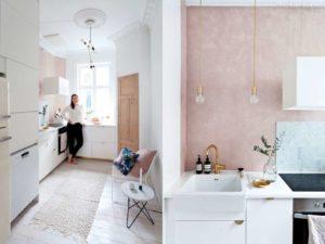 30 ایده طراحی آشپزخانه صورتی برای کمک به طراحی های شما - pink kitchen stuff 300x225