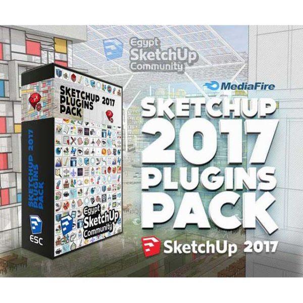 دانلود پلاگین های پر کاربرد برای اسکچاپ 2017 - plugins sketchup 3 600x600