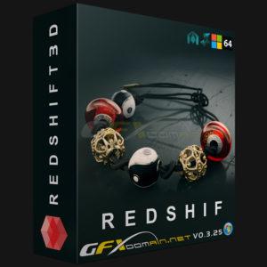 دانلود پلاگین Redshift 3D v0.3.25 - redshift3d plugin 2 300x300