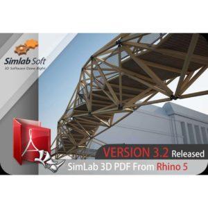دانلود پلاگین SimLab 3D PDF 3.2 برای Rhino 5 - simlab 3d pdf plugin 3 300x300