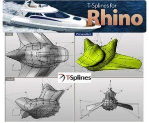 دانلود پلاگین TSplines V4.0 برای Rhino 5 - tsplines plugin 3 300x247