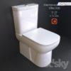 مدل سه بعدی توالت فرنگی