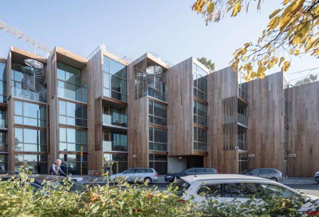 طراحی مجتمع مسکونی توسط گروه معماریبیارکه انگلس