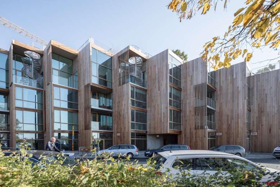 طراحی مجتمع مسکونی توسط گروه معماریبیارکه انگلس - 79PARK 6