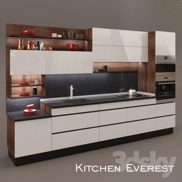 آبجکت کابینت آشپزخانه