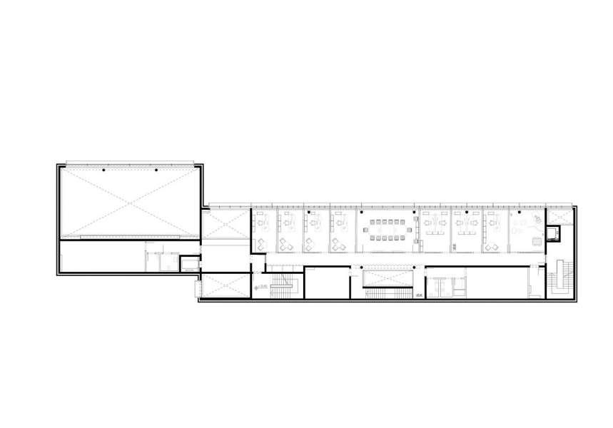 طراحی نمای آجری ساختمان صنایع نساجی آلمان - Administrative Building Textilverband 10