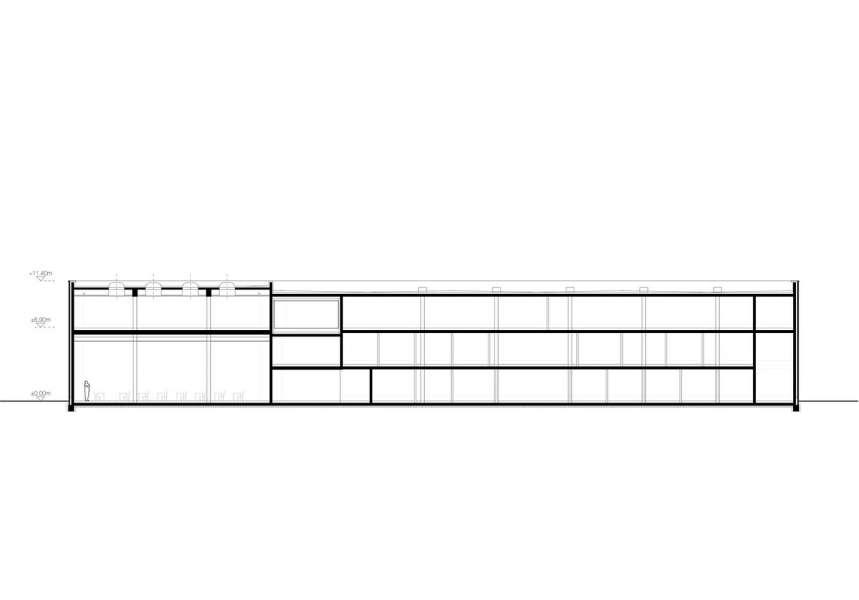 طراحی نمای آجری ساختمان صنایع نساجی آلمان - Administrative Building Textilverband 12