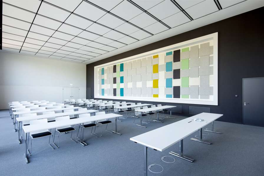طراحی نمای آجری ساختمان صنایع نساجی آلمان - Administrative Building Textilverband 3