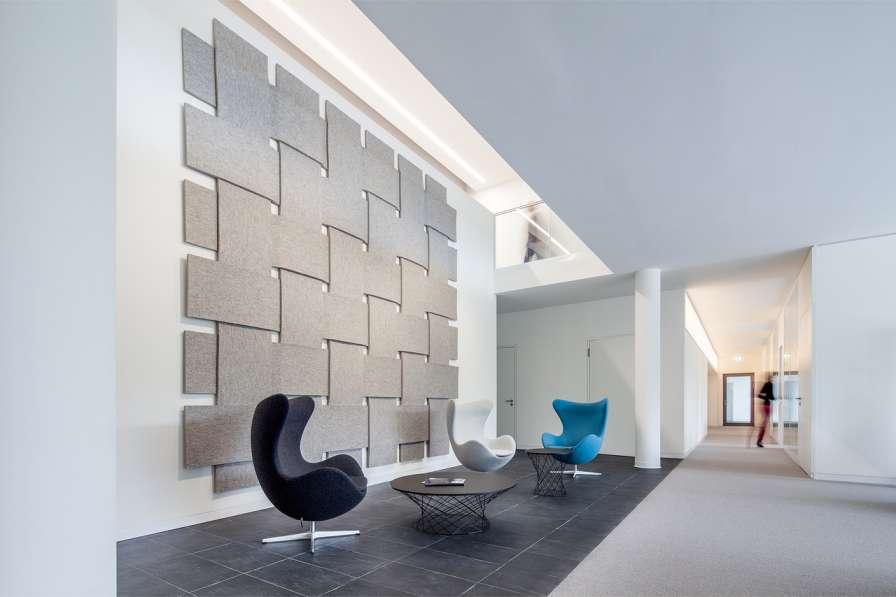 طراحی نمای آجری ساختمان صنایع نساجی آلمان - Administrative Building Textilverband 4