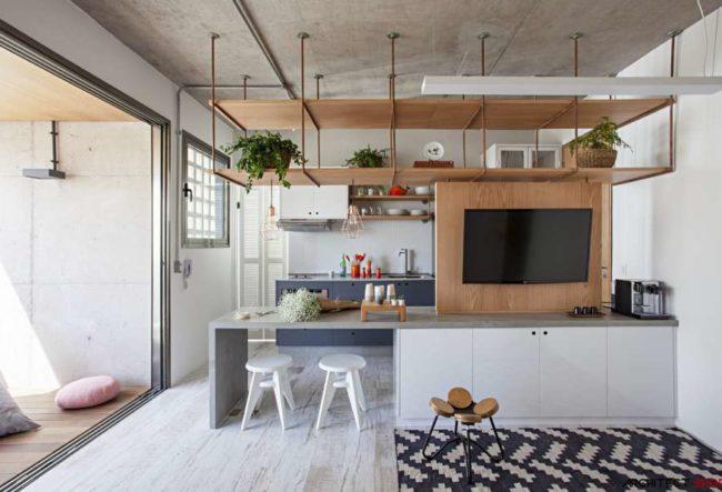 10 آپارتمان با مساحتزیر 65 متر مربع