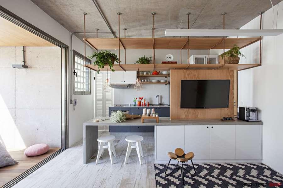طراحی آپارتمان 65 متری