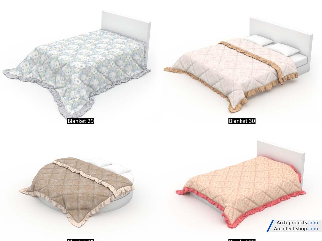 مدل سه بعدیتخت خواب
