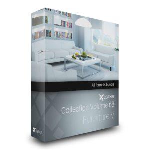 مدل سه بعدی مبلمان منزل