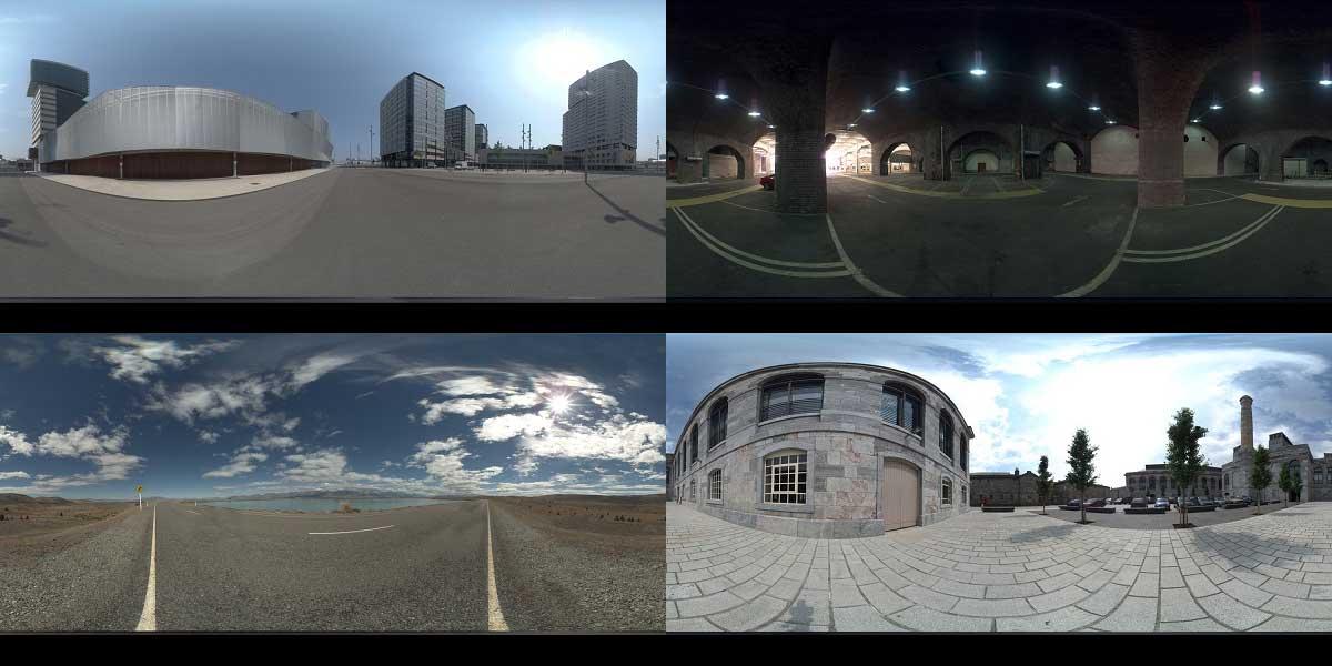 دانلود رایگان تصاویر HDRI محیط خارجی