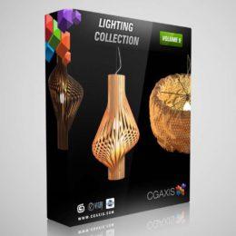 مدل سه بعدی لوستر مدرن از CGAxis