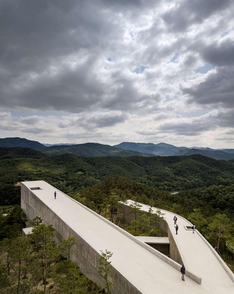 طراحی پاویلیون هنری پارک فرهنگی در کره جنوبی - Saya Park 10