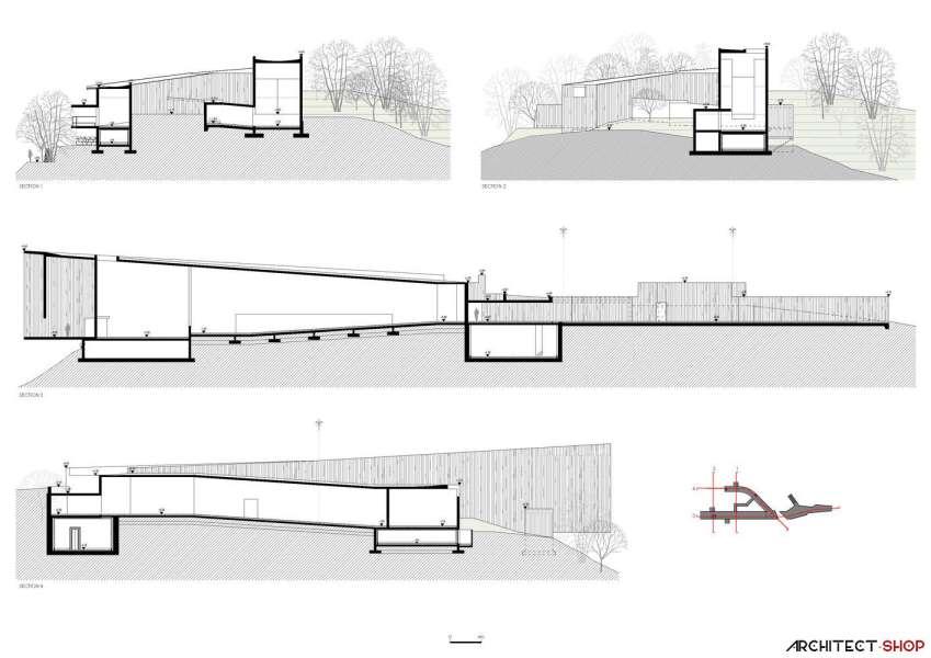 طراحی پاویلیون هنری پارک فرهنگی در کره جنوبی - Saya Park 16