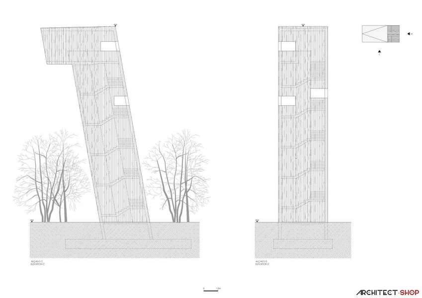 طراحی پاویلیون هنری پارک فرهنگی در کره جنوبی - Saya Park 24
