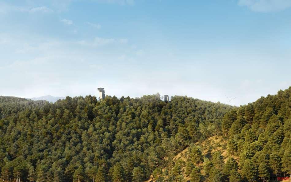 طراحی پاویلیون هنری پارک فرهنگی در کره جنوبی - Saya Park 9