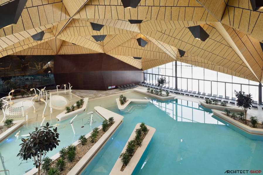 طراحی مرکز توانبخشی آبدرمانی در اسلوونی - Termalija Family Wellness 12