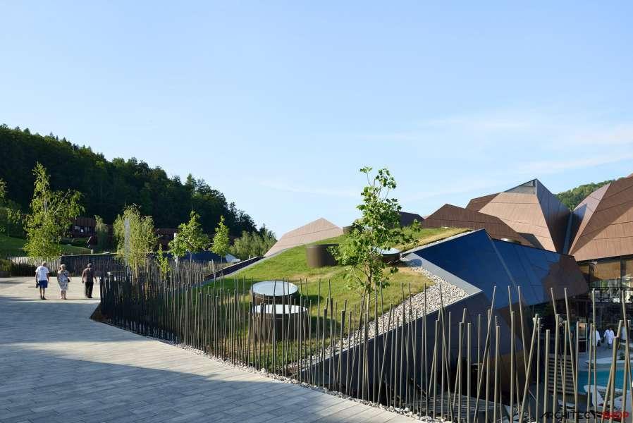 طراحی مرکز توانبخشی آبدرمانی در اسلوونی - Termalija Family Wellness 19