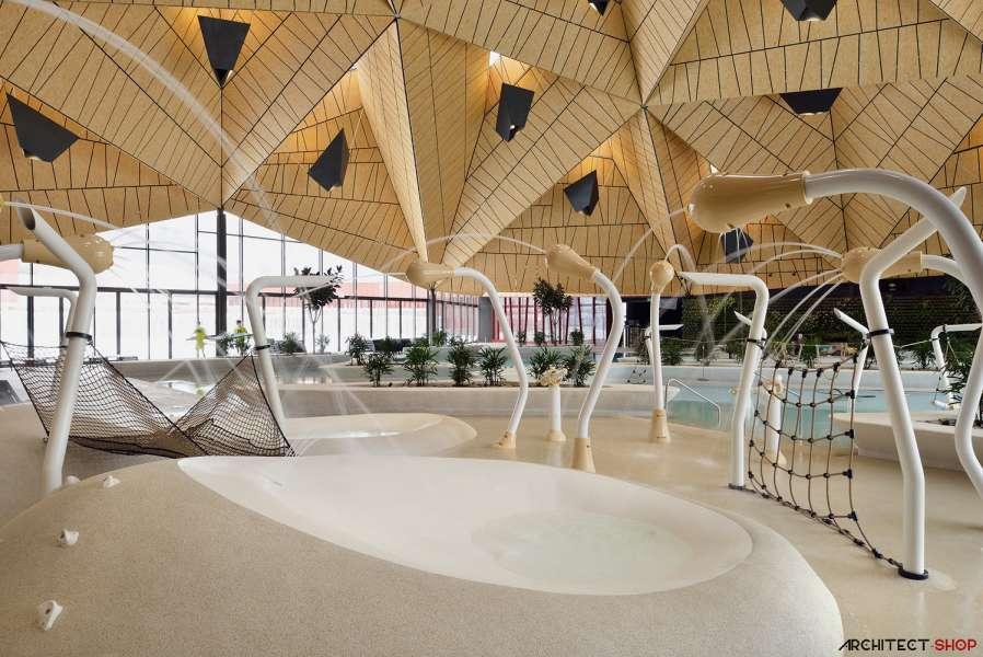 طراحی مرکز توانبخشی آبدرمانی در اسلوونی - Termalija Family Wellness 21