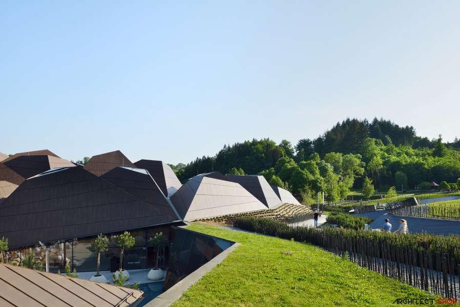 طراحی مرکز توانبخشی آبدرمانی در اسلوونی - Termalija Family Wellness 23