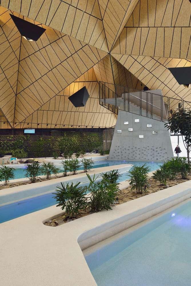 طراحی مرکز توانبخشی آبدرمانی در اسلوونی - Termalija Family Wellness 25