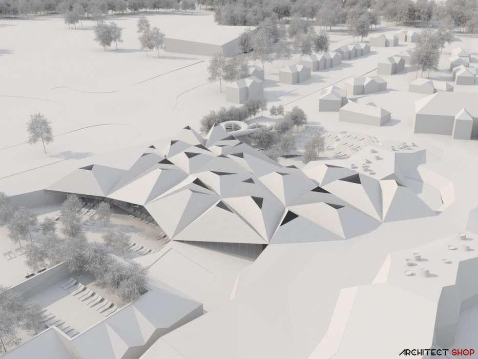 طراحی مرکز توانبخشی آبدرمانی در اسلوونی - Termalija Family Wellness 38