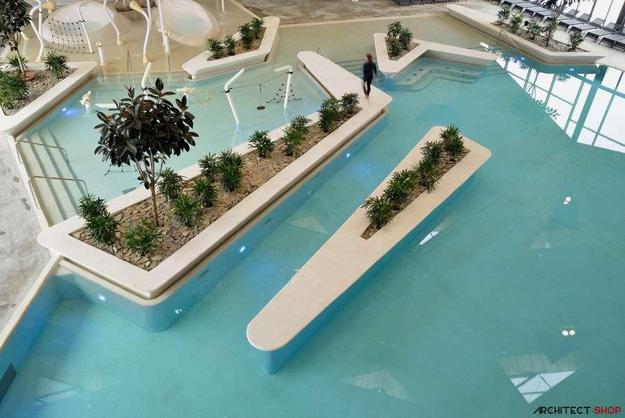 طراحی مرکز توانبخشی آبدرمانی در اسلوونی - Termalija Family Wellness 8