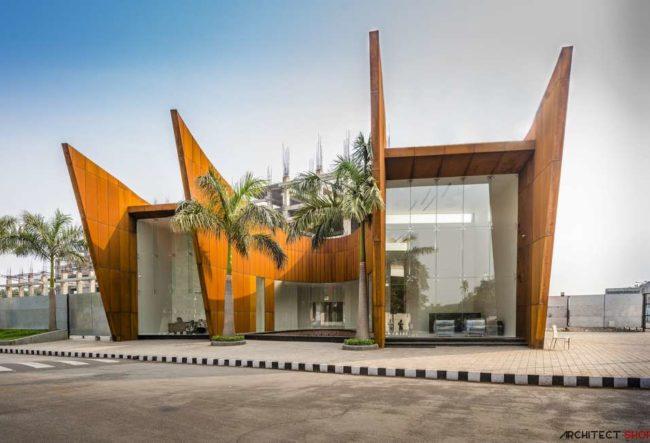 طراحی ساختمان اداری در هند