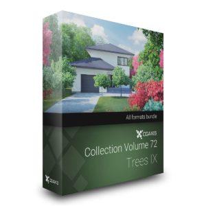 مجموعه مدل سه بعدی درخت