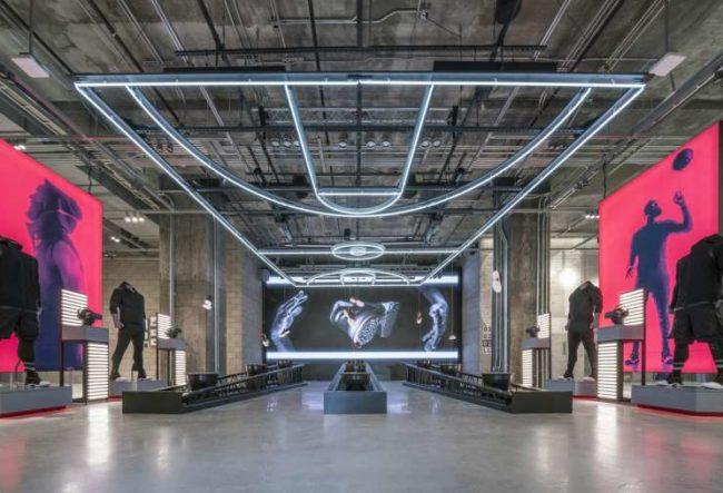 طراحی داخلی فروشگاه آدیداس در نیویورک