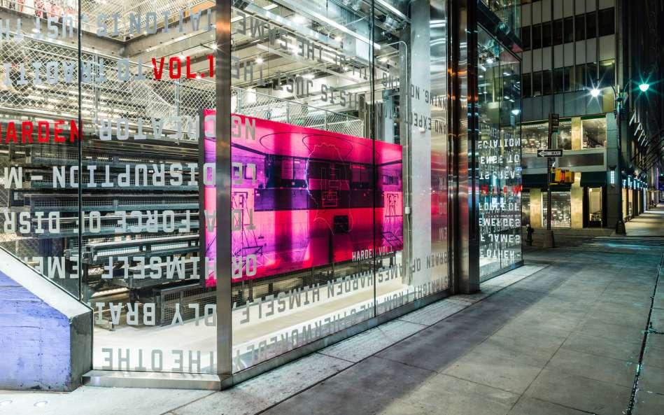 طراحی داخلی فروشگاه آدیداس در نیویورک - adidas NYC 2