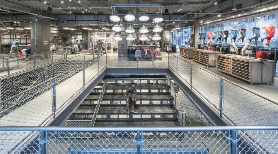 طراحی داخلی فروشگاه آدیداس در نیویورک - adidas NYC 3