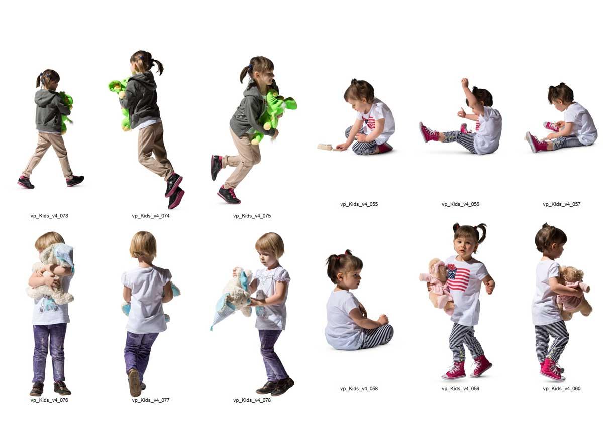 دانلود پرسوناژ کودک