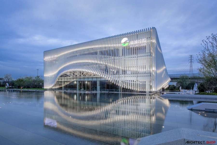 طراحی نمایشگاه در چین - xiang cheng exhibition hall 3