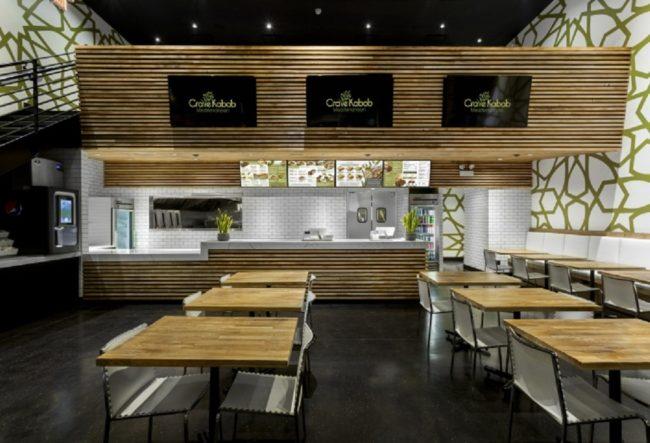 طراحی داخلی رستوران مدیترانه ایی در شیکاگو