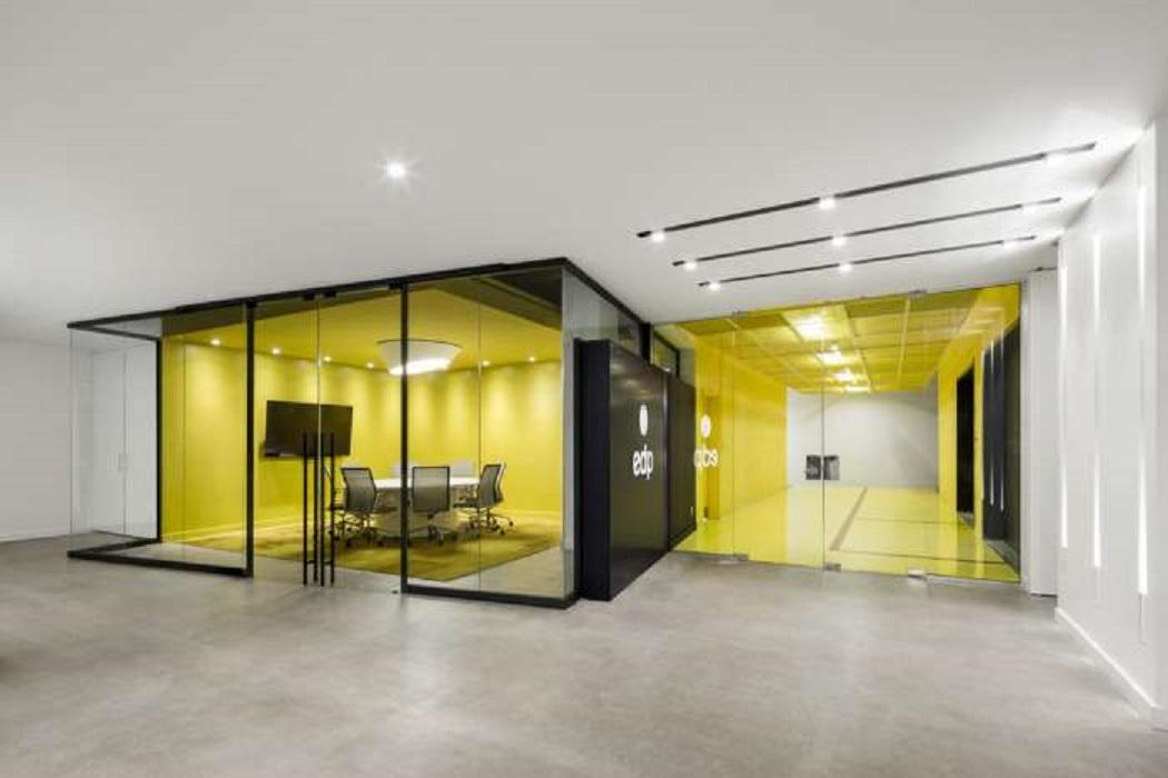 طراحی دفتر کار با الهام از گالری اداری - EDP Offices 8