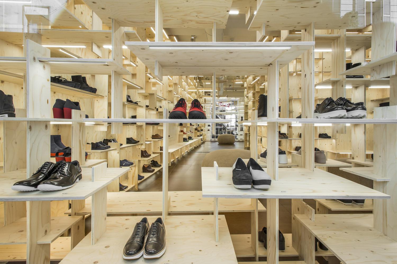 25 پلان فروشگاه تجاری زیر 100 متر - Retail Stores Under 100 Meters 19 1